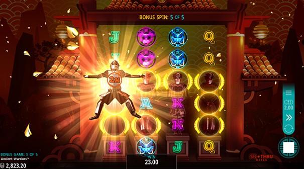 Spela Ancient Warriors slot