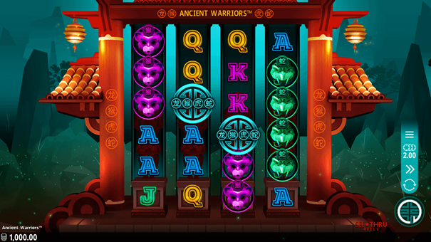 Microgaming Ancient Warriors slot