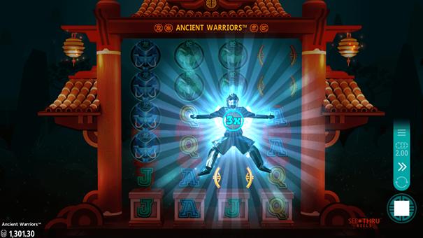 Ancient Warriors slot bonus
