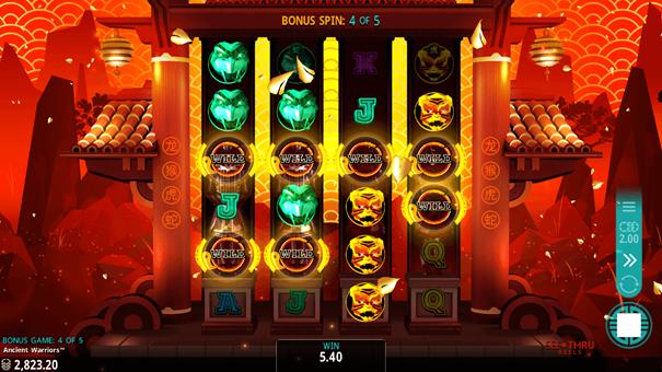 Ancient Warriors slot free spins