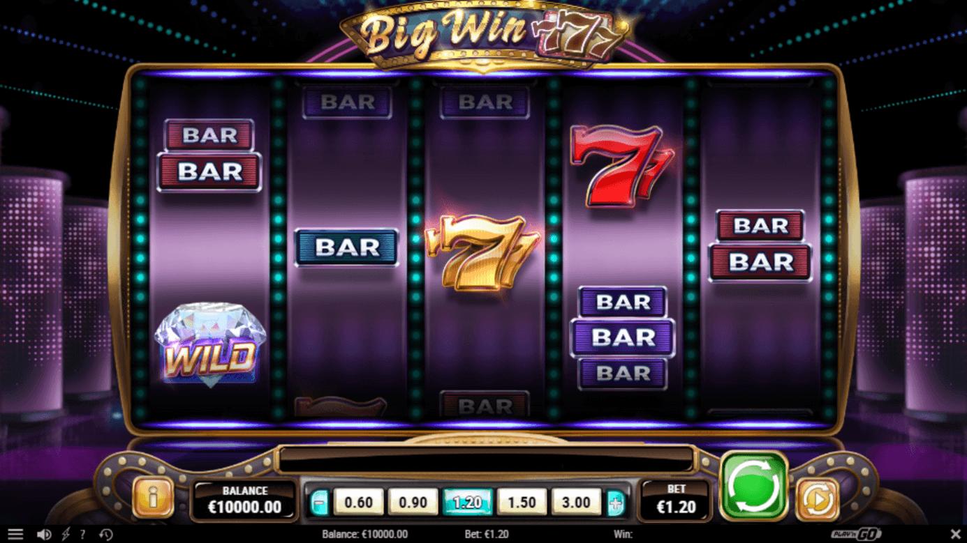 Spela Big Win 777 slot