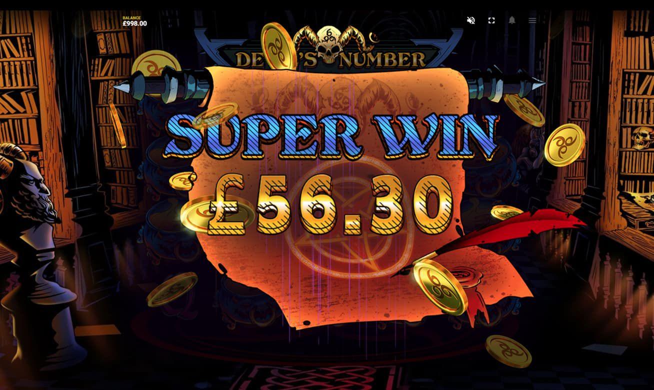 Devils Number slot free spins