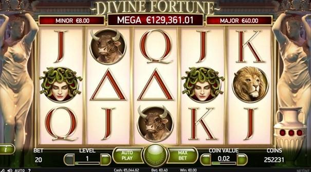 Spela Divine Fortune slot