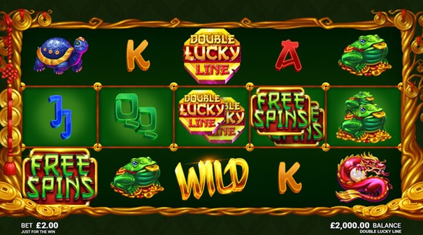 Spela Double Lucky Line slot