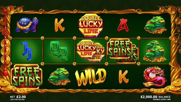 Microgaming Double Lucky Line slot