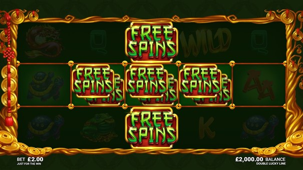 Double Lucky Line slot free spins
