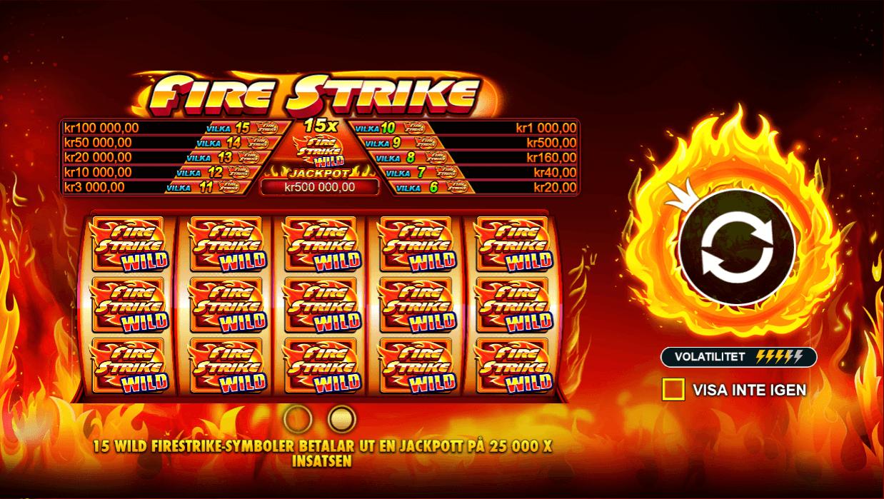 Fire Strike slot bonus