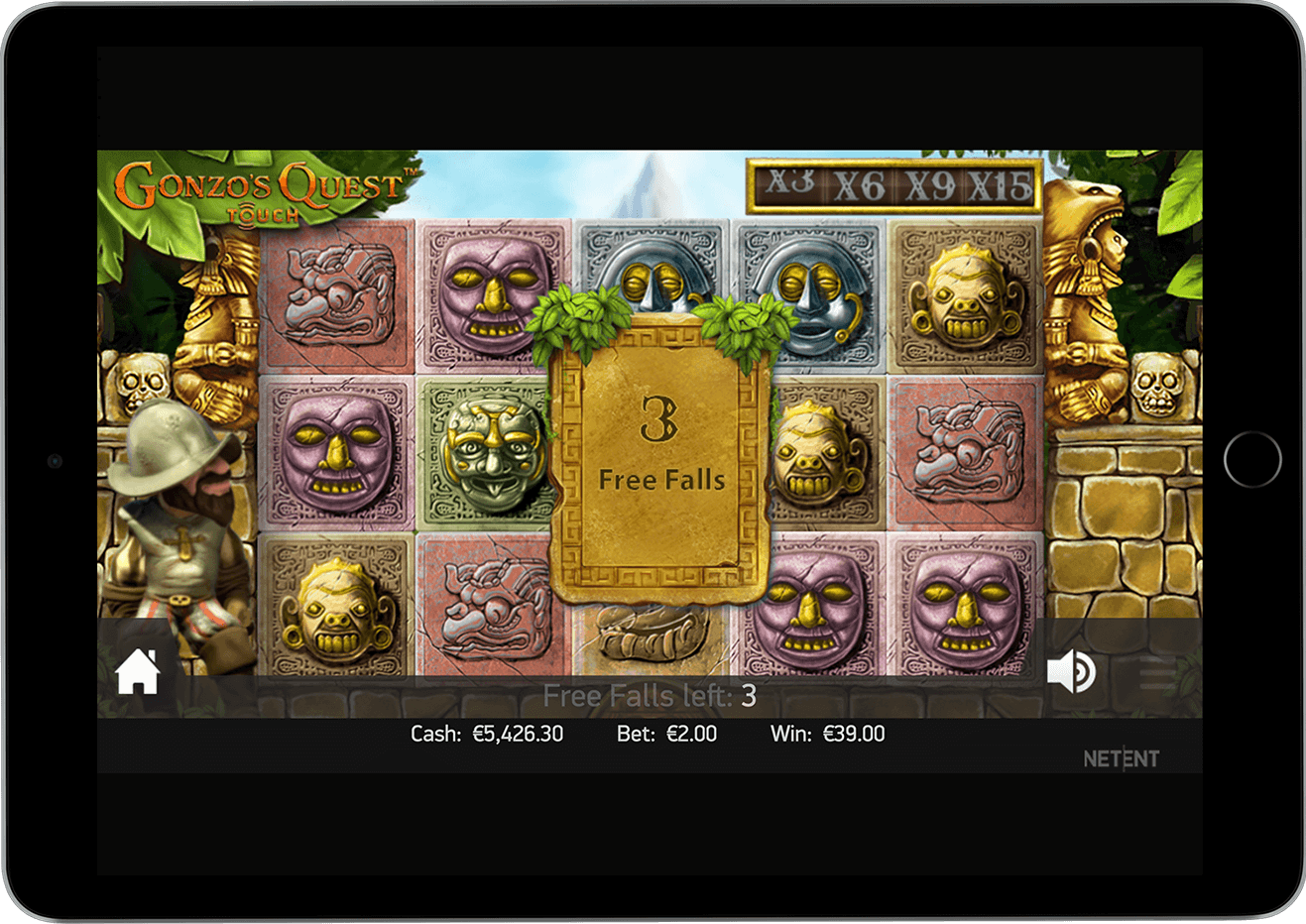 Gonzos Quest slot free spins