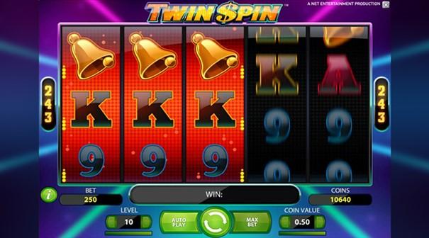 Twin Spin slot bonus