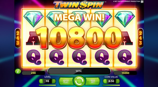 Twin Spin slot vinst