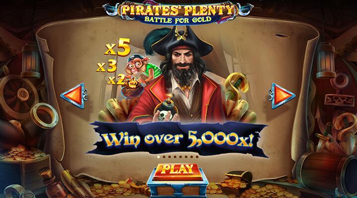 Red Tiger Gaming Pirates Plenty Battle for Gold slot