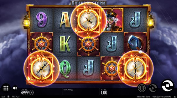 Riders of the Storm slot free spins