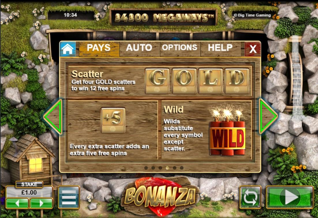 Slot Bonanza free spins