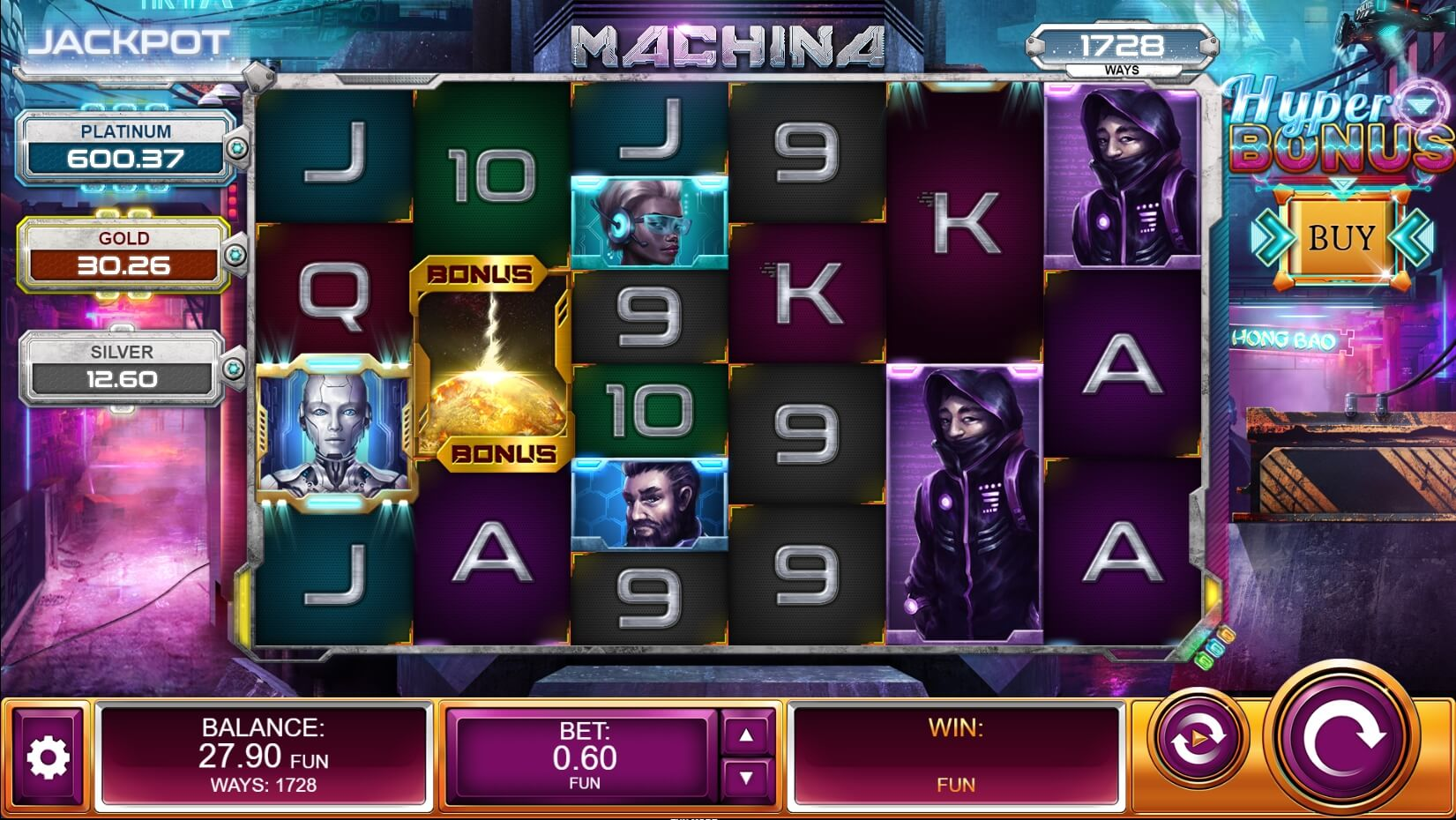 Machina Megaways Slot