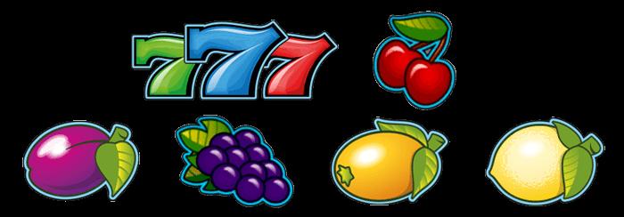 Simbolos de juego Chiquito