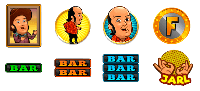 Simbolos de Nivel Superior de la Slot Chiquito