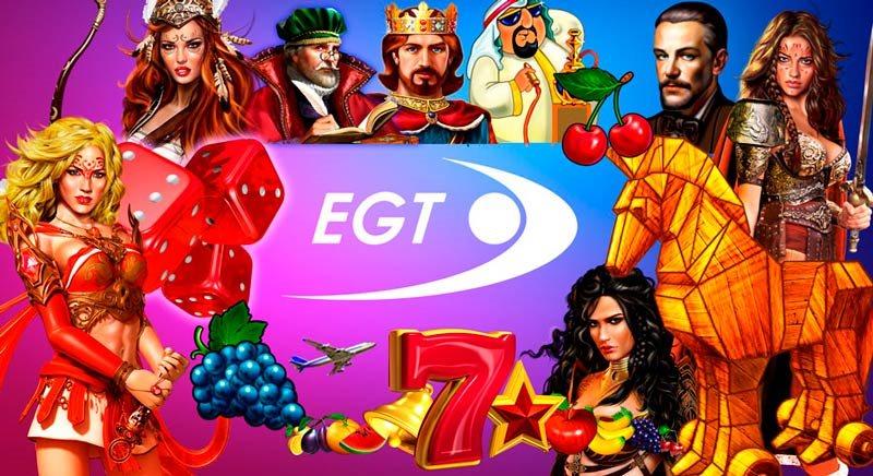 Tragaperrras de EGT Interactive en PlayUZU