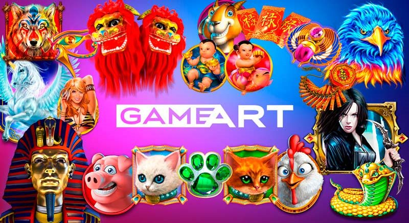 Tragaperras de Gameart en PlayUZU