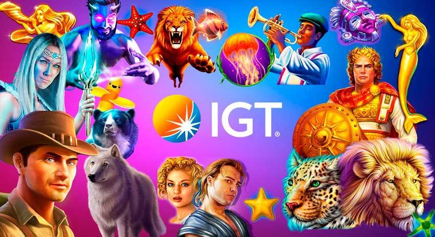 Tragaperras de IGT en PlayUZU