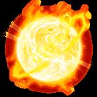 símbolo Sol furioso