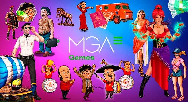 Slots de MGA Games en PlayUZU