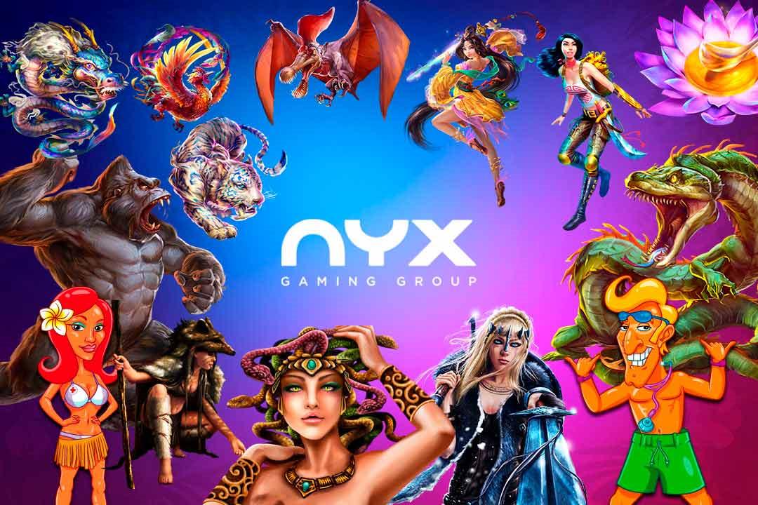 Tragaperras de NYX en PlayUZU