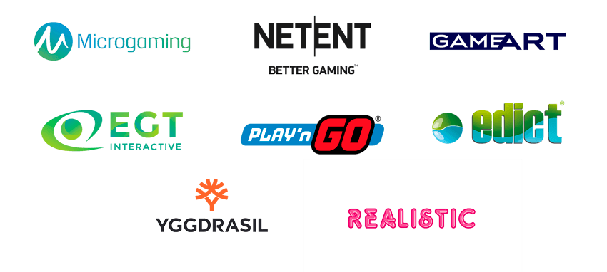 Proveedores de juegos en Playuzu