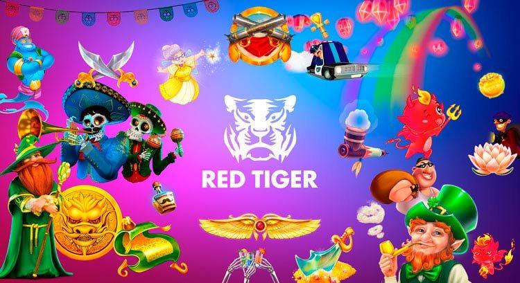 Tragamonedas de Red Tiger en PlayUZU