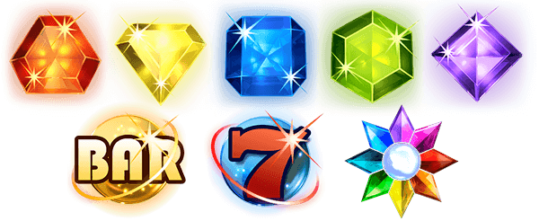 Simbolos de Starburst