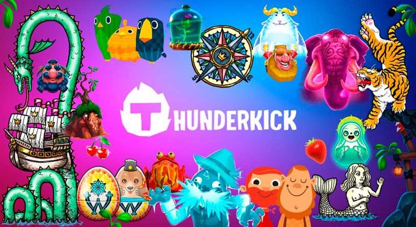 Tragamonedas de Thunderkick en PlayUZU