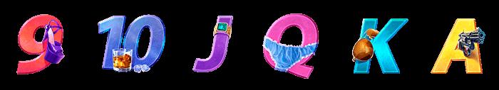 símbolos de la tragaperras Torrente
