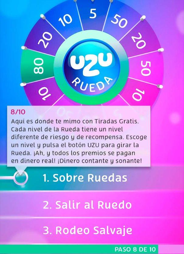 Tour de UZU: Rueda de UZU