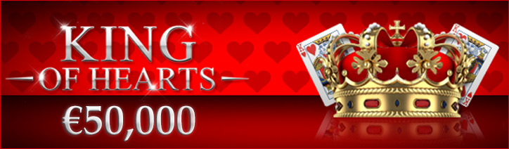 €50,000 King of Hearts