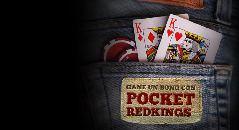 ¡CONSIGA SU BONO POCKET RED KINGS HOY!