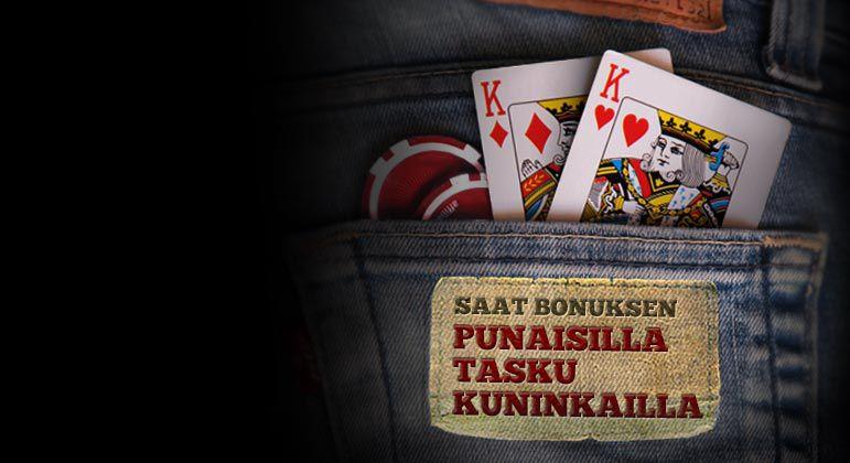 NAPPAA POCKET RED KINGS BONUS TÄNÄÄN!