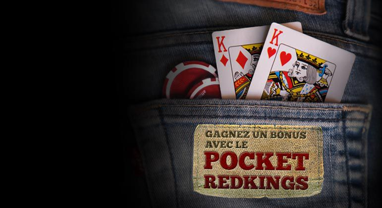 RECEVEZ VOTRE BONUS POCKET RED KINGS AUJOURD'HUI!