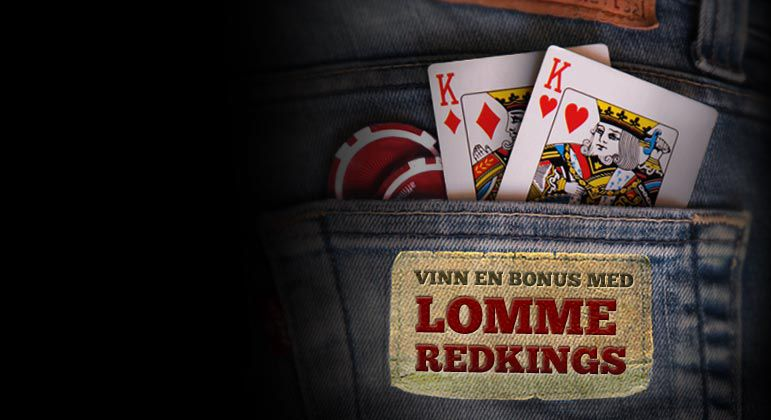 FÅ DIN LOMME RED KINGS BONUS I DAG!