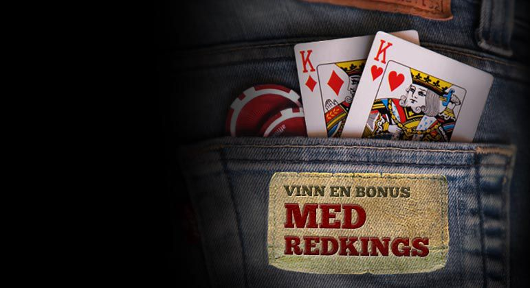 FÅ DIN RED KINGS BONUS IDAG!