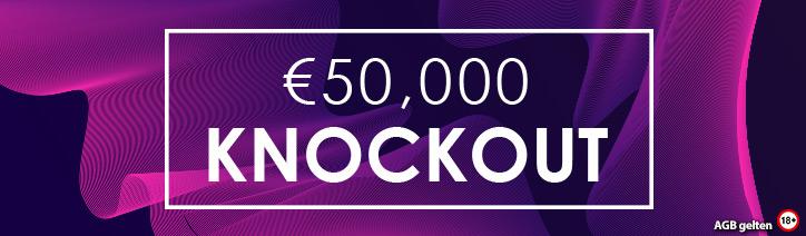 €50,000 Knockout Super Bounty MTT