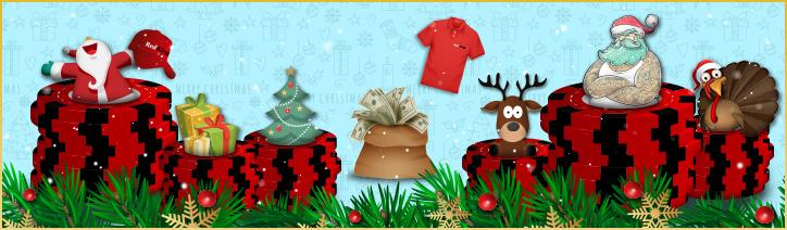 December Poker Calendar
