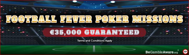 Football Fever Poker Missions