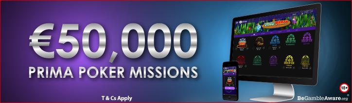 Prima Poker Missions