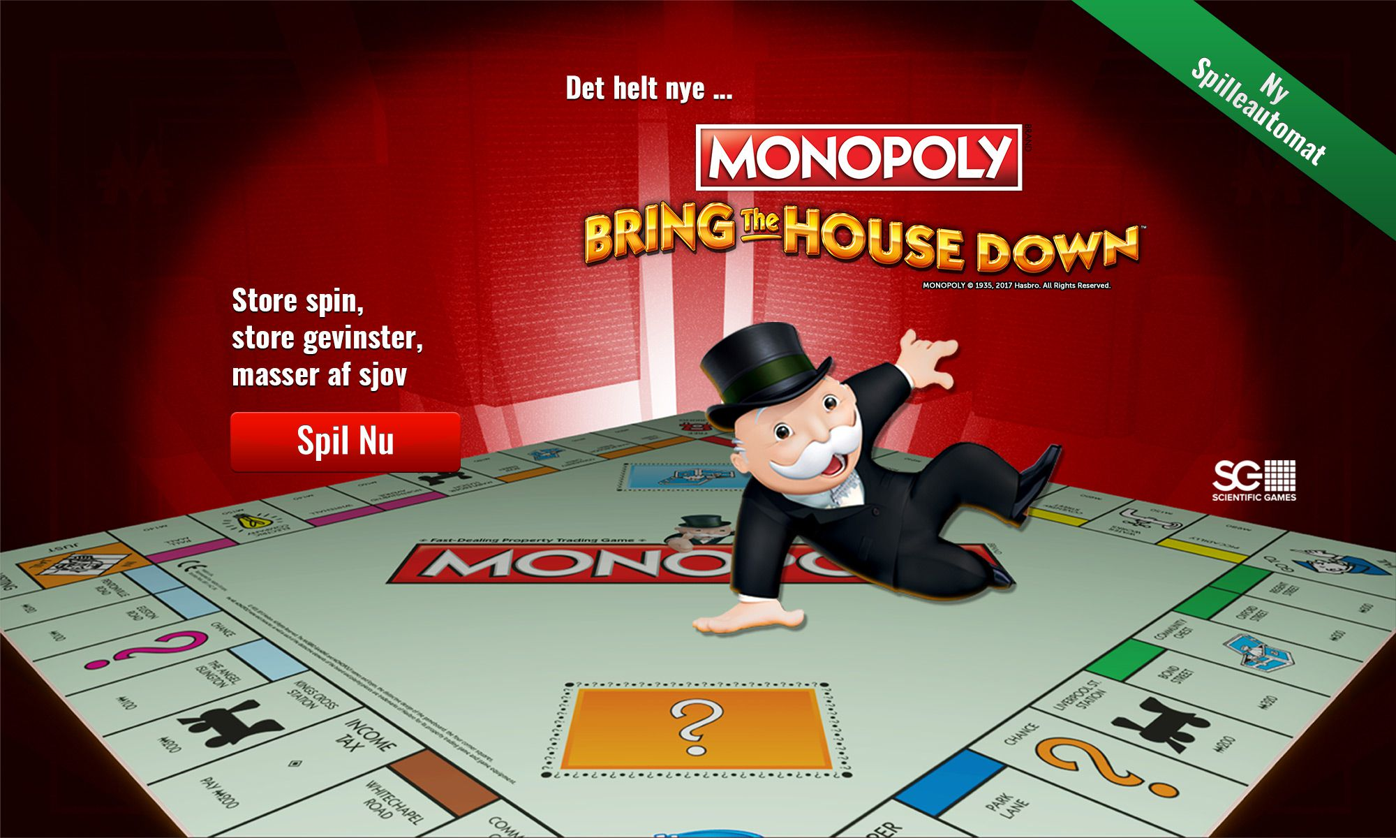Monopoly Once Around Deluxe slot - spil gratis nu